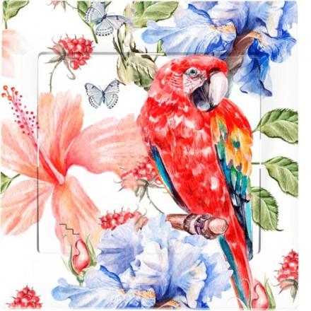 Włącznik schodowy Sigma Pojedynczy Czerwona papuga