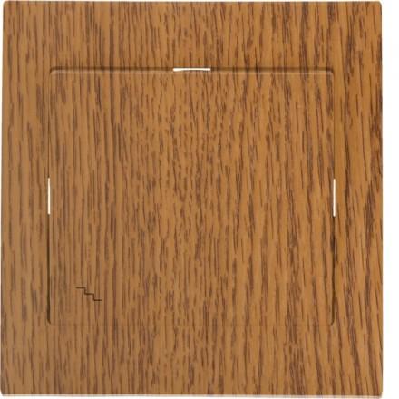 Włącznik schodowy Sigma Pojedynczy Dąb Vintage