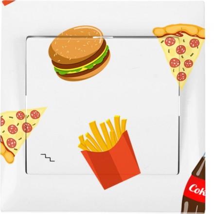 Włącznik schodowy Sigma Pojedynczy Fast Food