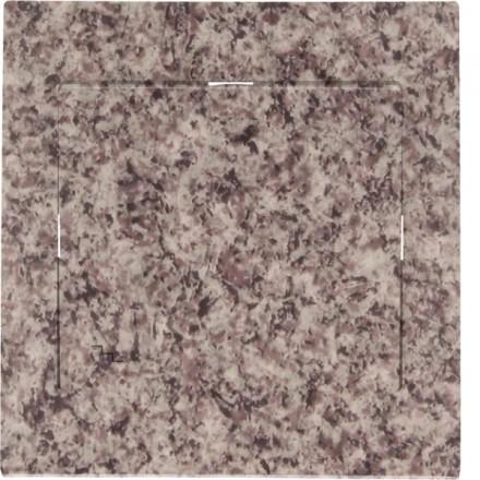 Włącznik schodowy Sigma Pojedynczy Granit wzór 2