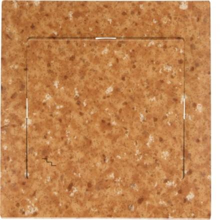 Włącznik schodowy Sigma Pojedynczy Granit wzór 5