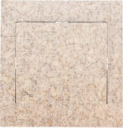 Włącznik schodowy Sigma Pojedynczy Granit wzór 8