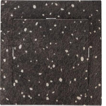 Włącznik schodowy Sigma Pojedynczy Granit wzór 9