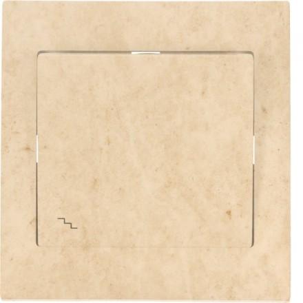 Włącznik schodowy Sigma Pojedynczy Granit wzór 12