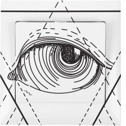 Włącznik schodowy Sigma Pojedynczy Illuminati