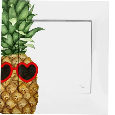 Włącznik schodowy Simon 54 Pojedynczy Ananas w okularach