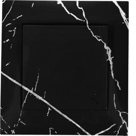 Włącznik schodowy Simon 54 Pojedynczy Czarny marmur