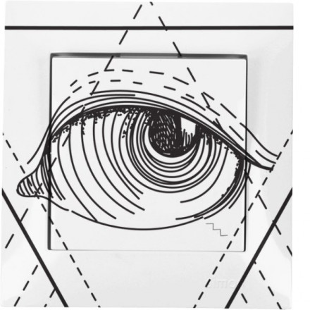 Włącznik schodowy Simon 54 Pojedynczy Illuminati