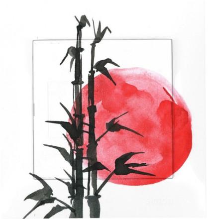 Zaślepka kontaktu Simon 54 Japoński zachód słońca