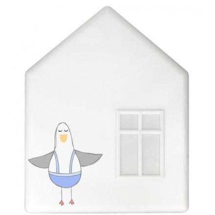 IKEA DROMHEM DOMEK LAMPKA NOCNA ŚCIENNADO140
