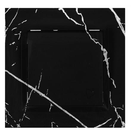 PRZYCISK DZWONKA SIMON 10 Czarny marmur