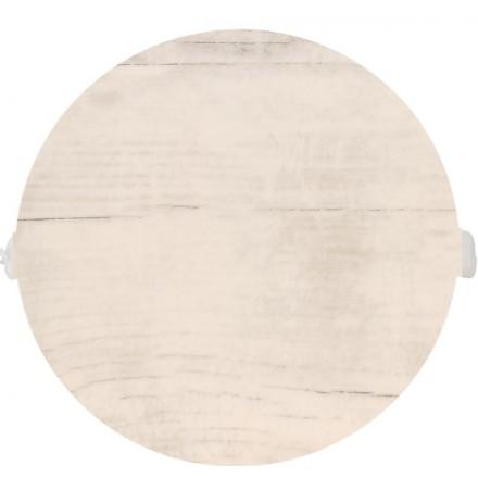 POKRYWA ZAŚLEPKA PUSZKI 90 MM Białe drewno