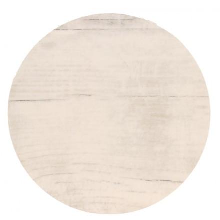 POKRYWA ZAŚLEPKA PUSZKI 70 MM Białe drewno