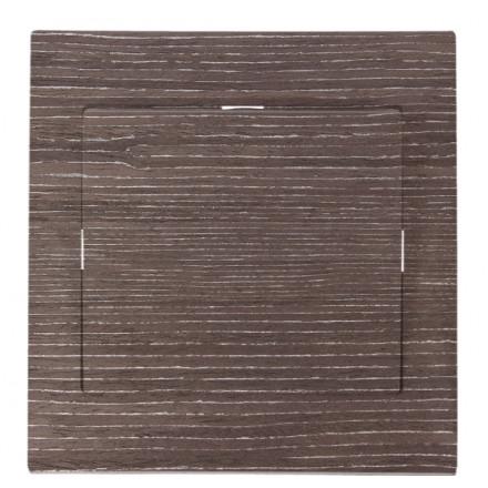 WŁĄCZNIK SCHODOWY POJEDYNCZY SIMON 10 Ciemne drewno