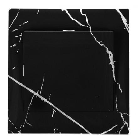 WŁĄCZNIK SCHODOWY POJEDYNCZY SIMON 10 Czarny marmur