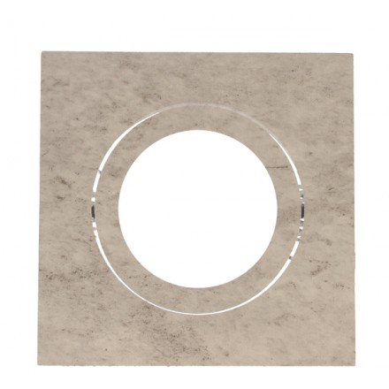 Oprawa sufitowa Kwadratowa 8.2cm x 8.2cm Wzór D409